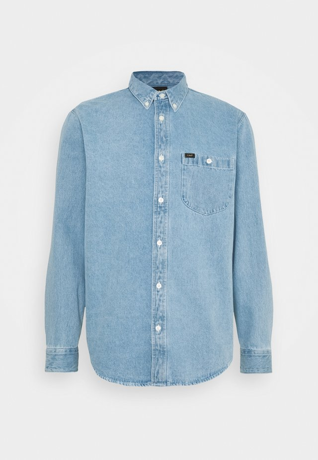 RIVETED  - Shirt - faded blue