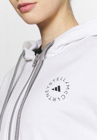 adidas by Stella McCartney - HOODY - Mikina na zip - white - 4
