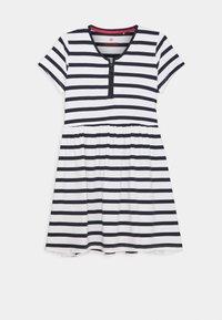 Lemon Beret - TEEN GIRLS DRESS - Jersey dress - optical white - 0