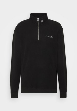 HEVER CREW - Sweater - black