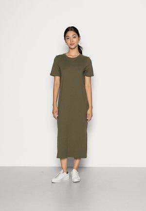 LIV ORGANIC DRESS - Jersey dress - kalamata