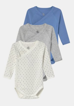 NAISS 3 PACK - Body - white/blue/grey