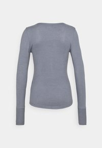 Abercrombie & Fitch - COZY HENLEY - Jumper - medium blue - 6