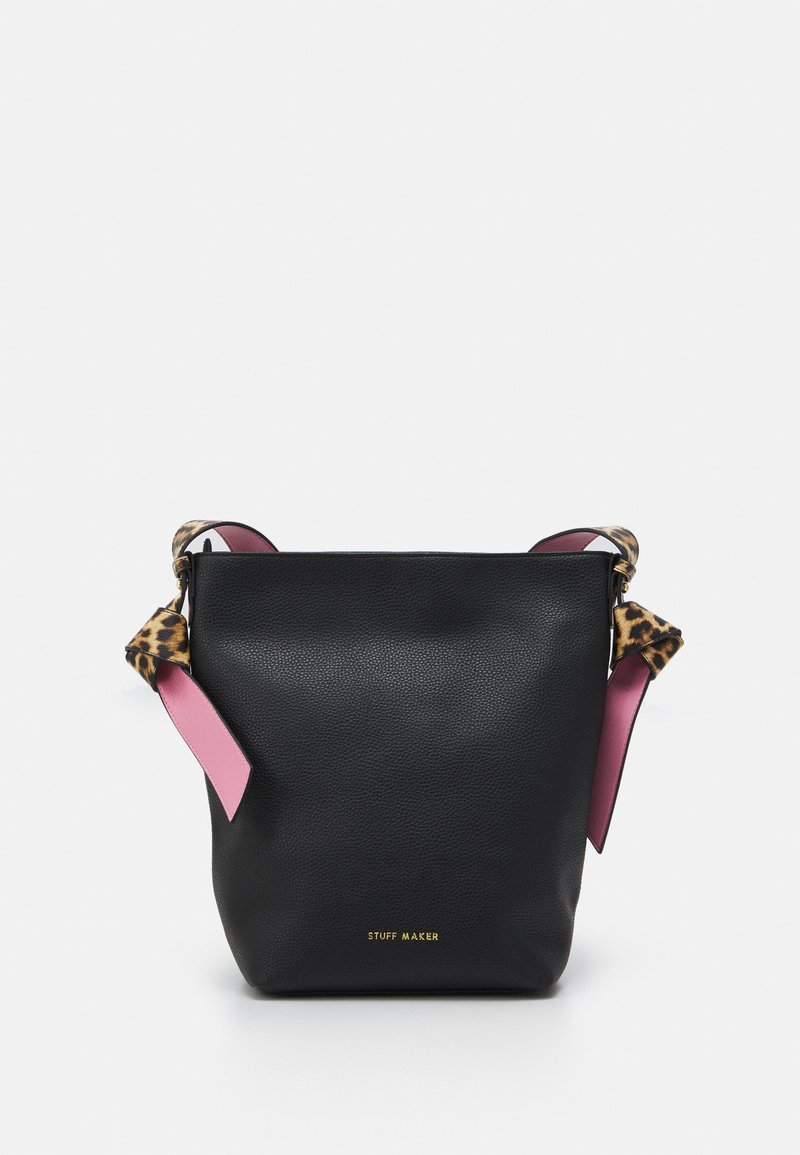 STUFF MAKER - ROYAL GARDEN - Shoppingveske - black