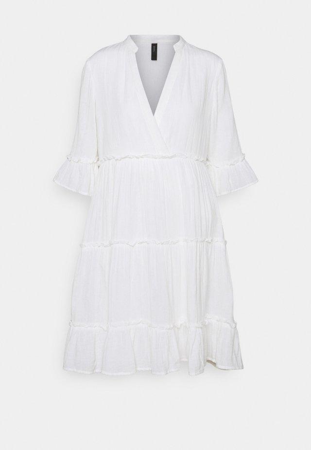 YASLIMA SHORT DRESS ICON - Kjole - bright white