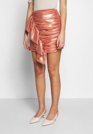 GOES SKIRT - Mini skirt - rosewood