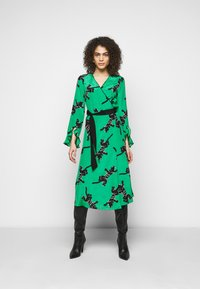 Diane von Furstenberg - SERENA DRESS - Vapaa-ajan mekko - green - 0