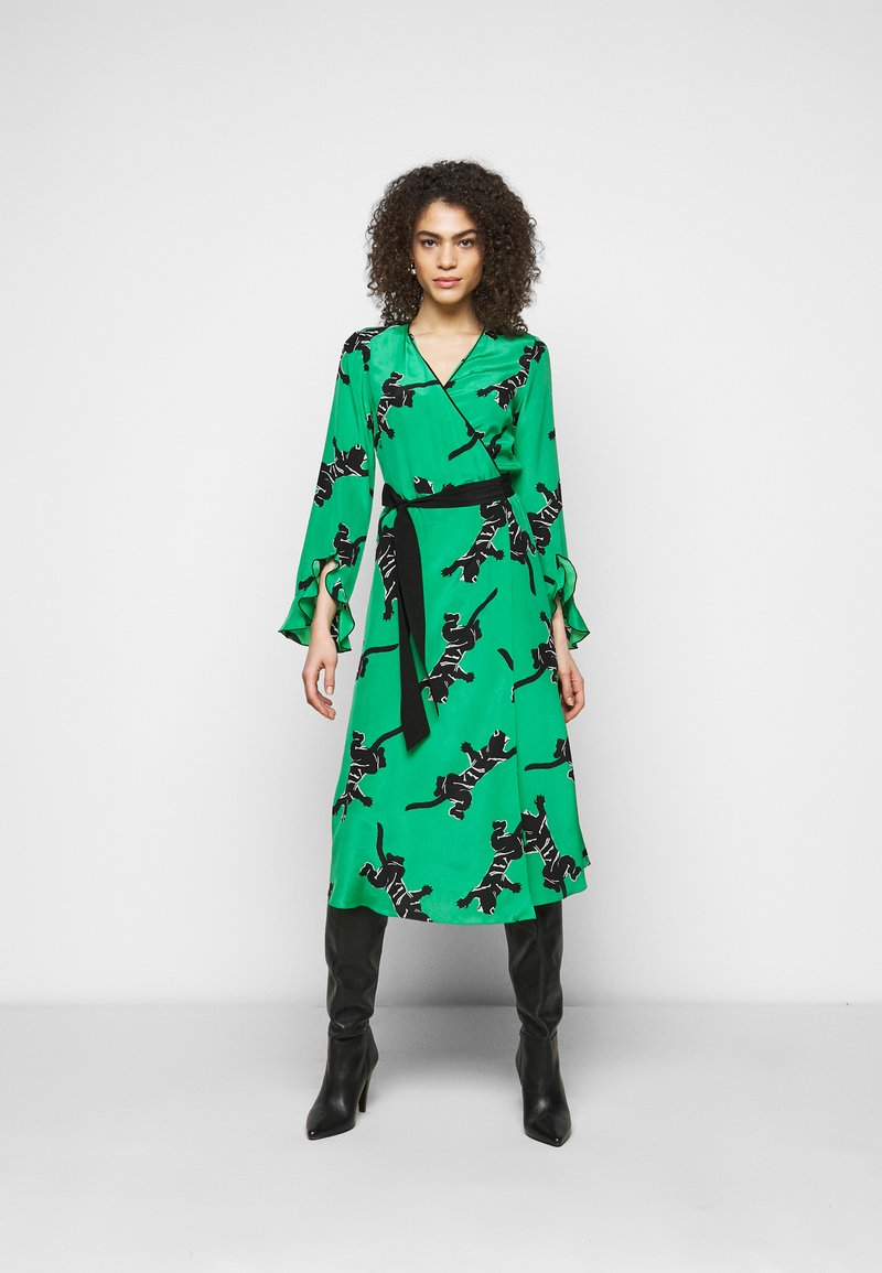 Diane von Furstenberg - SERENA DRESS - Vapaa-ajan mekko - green