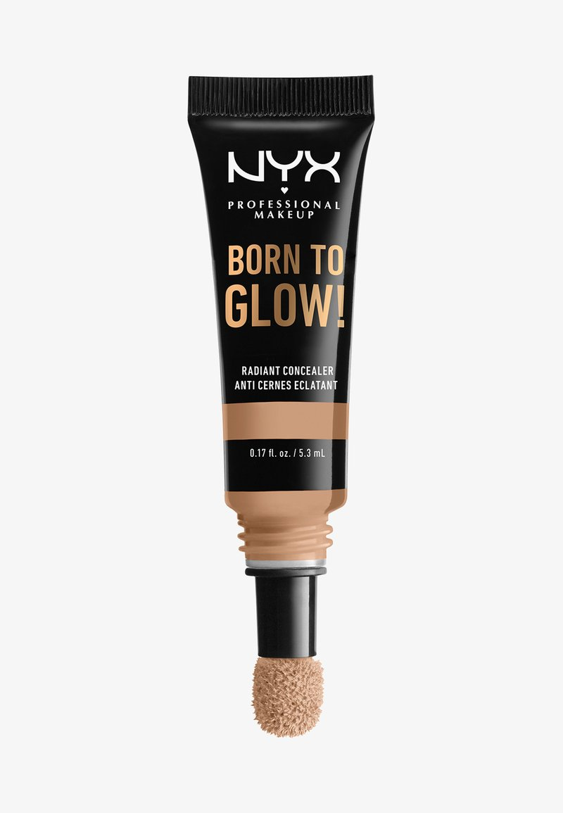 Nyx Professional Makeup - BORN TO GLOW RADIANT CONCEALER - Correcteur - 09 medium olive