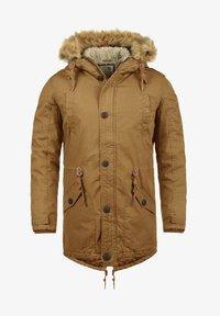 Solid - WINTERJACKE CLARKI TEDDY - Winter coat - light brown - 3