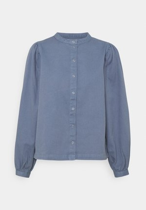 PCPALI - Button-down blouse - medium blue denim
