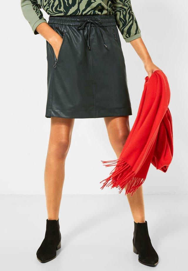 Mini skirt - grün