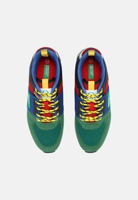 Benetton - POWER - Sneakers laag - green/red - 3
