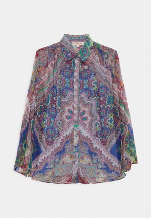 ELLEBORE 2-IN-1 - Blouse - blue