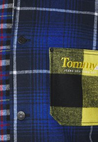 Tommy Jeans - MIX PLAID JACKET UNISEX - Lett jakke - twilight navy/multi - 2