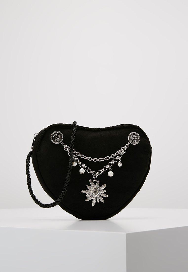 Alpenflüstern - Across body bag - schwarz