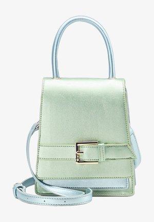 Handbag - grün metallic