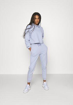 SET - Cropped hoodie with jogger - Hoodie - blue