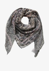 Betty Barclay - MIT LEOPRINT - Foulard - grau/camel - 1