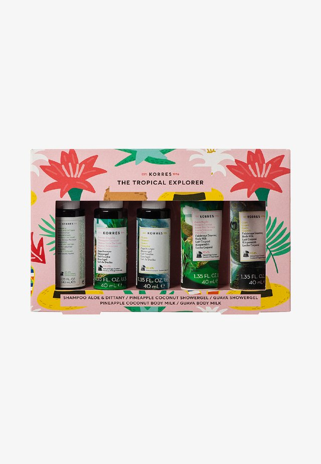 TROPICAL EXPLORER TRAVEL SIZE SET - Kropsplejesæt - -