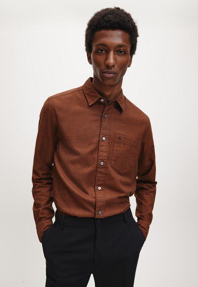 Shirt - gingerbread heather