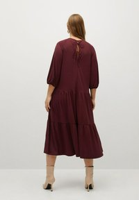Violeta by Mango - Day dress - granatrot - 2