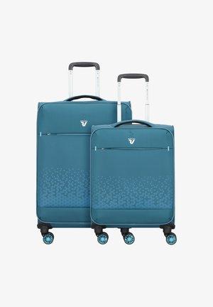 Wheeled suitcase - petrolio