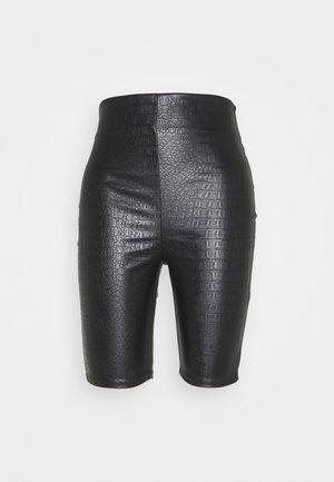 CROC BIKER - Shorts - black