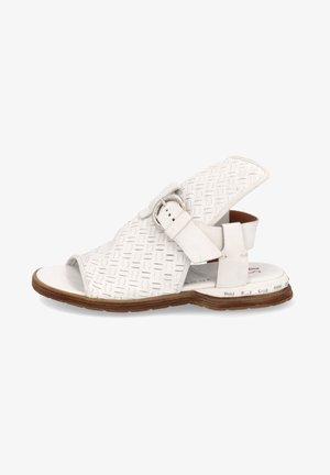 Ankle cuff sandals - bianco