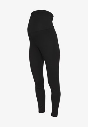 MATERNITY PONTE PANT - Leggings - Trousers - black