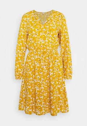 Kjole - brass yellow