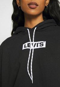 Levi's® - GRAPHIC CROP PRISM - Sweatshirt - youth new boxtab caviar - 4