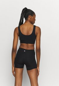 Cotton On Body - HIGHWAISTED SHORTIE SHORT - Leggings - core black - 2