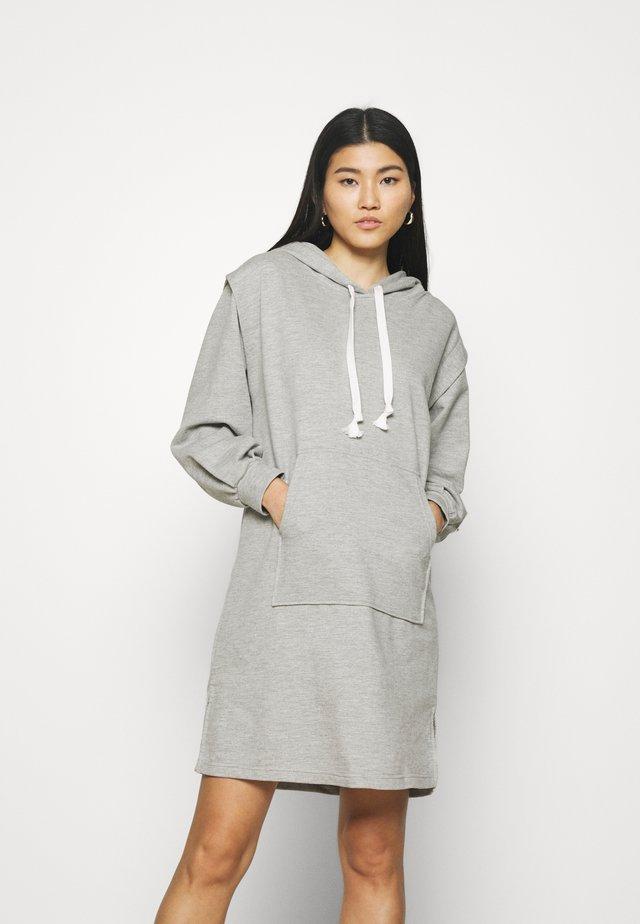 MISKA DRESS - Vapaa-ajan mekko - grey melange