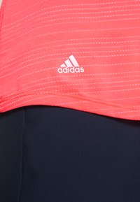 adidas Golf - MICRODOT SLEEVELESS - Polotričko - flash red - 5
