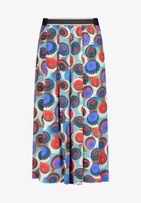 Nicowa - MIT GESCHLITZEM BEIN - Trousers - blue - 5