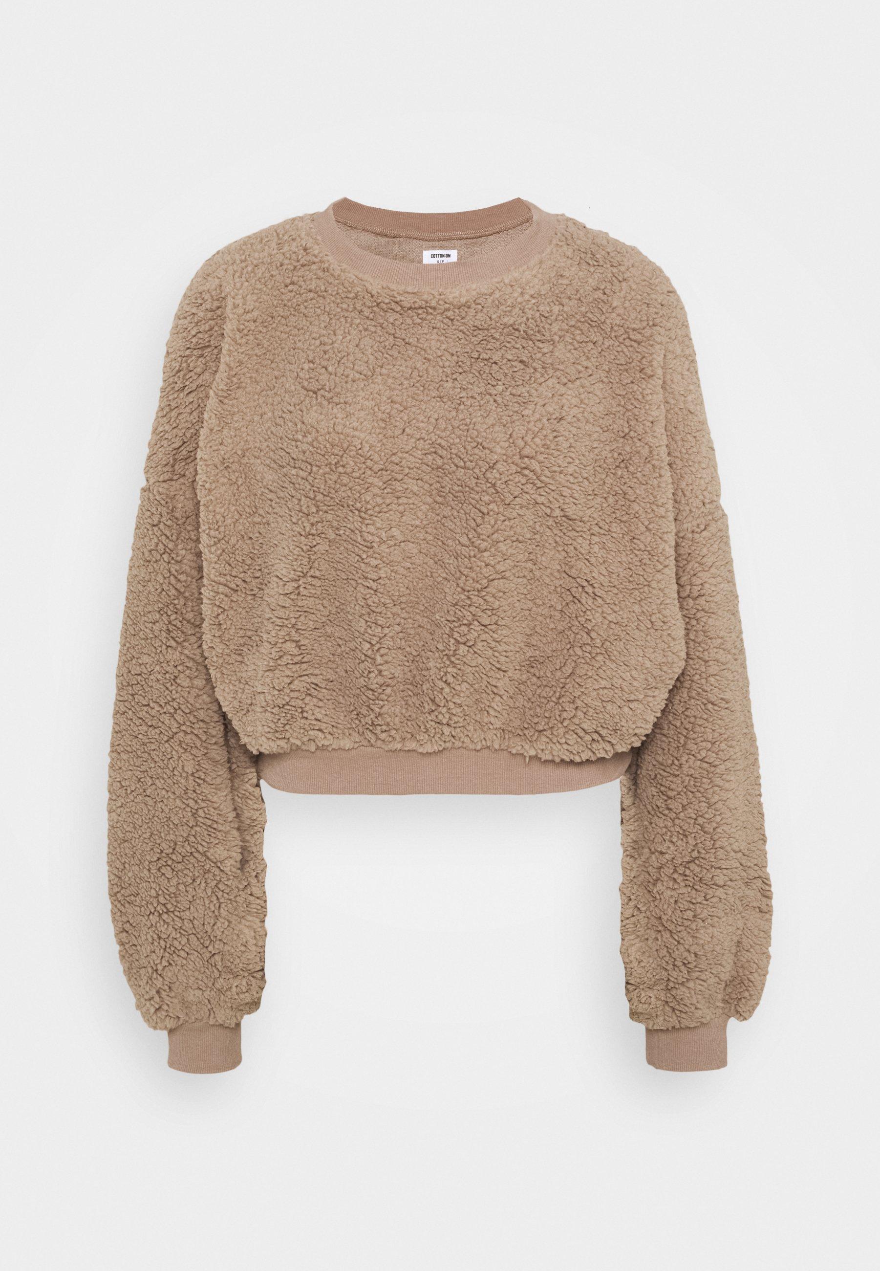 New Look TEDDY 12 ZIP Fleece trui camelcamel Zalando.nl
