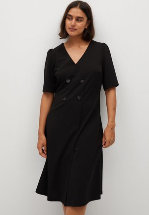 BETTY - Robe en jersey - zwart