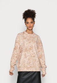Rich & Royal - LEO PRINT - Sweatshirt - beige - 0