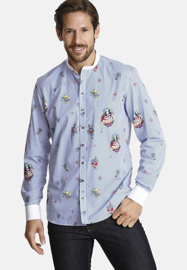 TATTOOFORYOU - Overhemd - blue