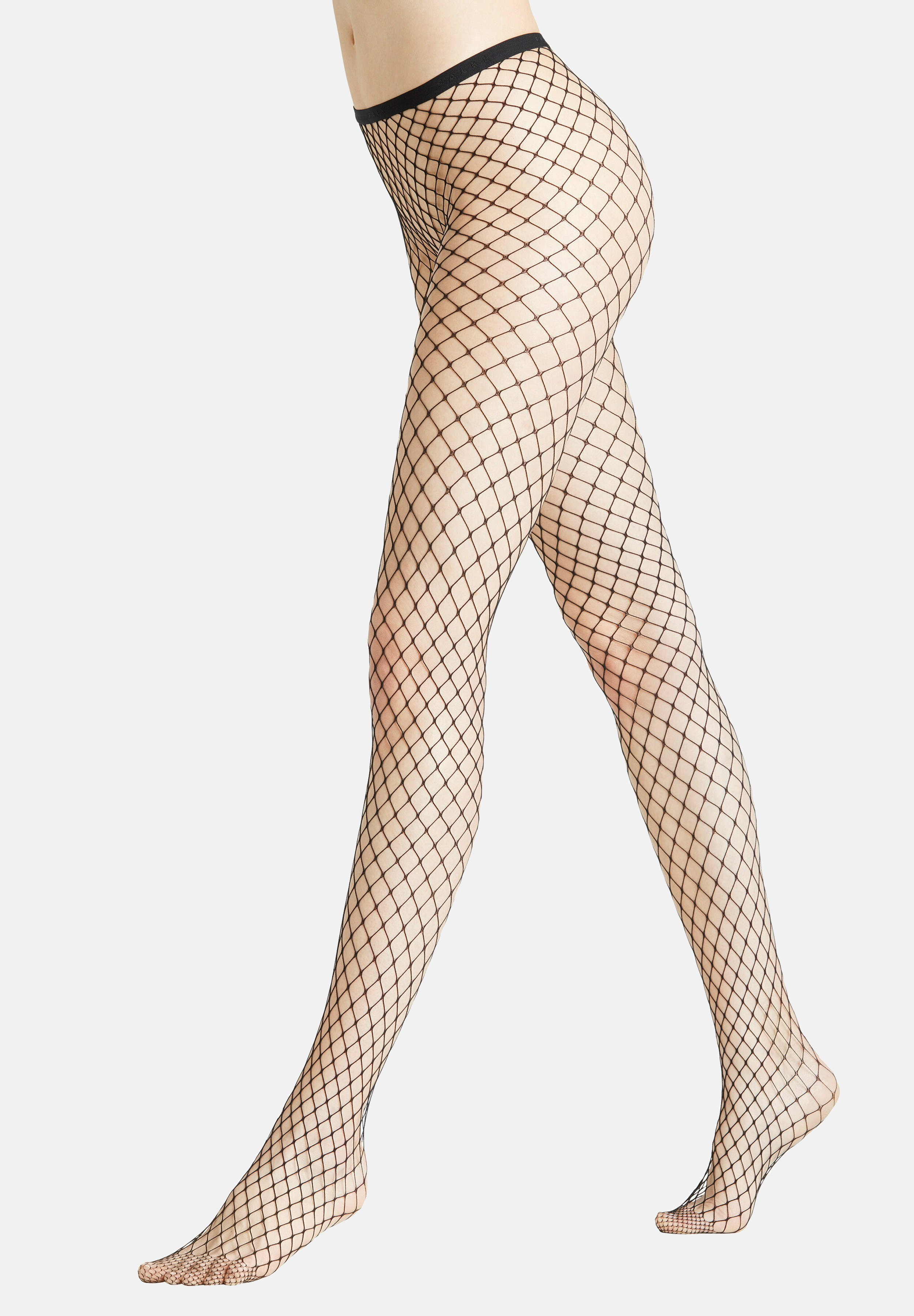 Femme CLASSIC NET - Collants - black