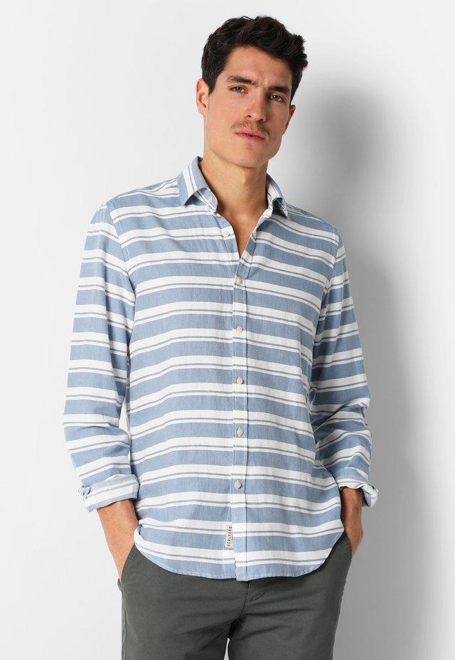 HORIZONTAL STRIPED  - Shirt - blue stripes