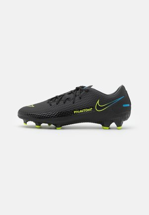 PHANTOM GT ACADEMY FG/MG - Moulded stud football boots - black/cyber/light photo blue