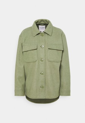 OPTIC JACKET - Summer jacket - dull olive green melange
