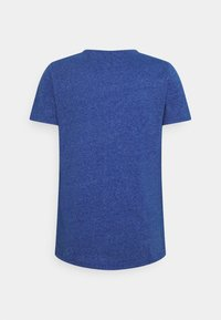 Tommy Jeans - SLIM JASPE V NECK - Jednoduché triko - providence blue - 1