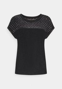 ONLRILEY MIX - Print T-shirt - black
