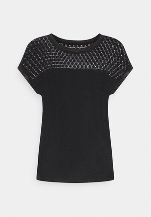 ONLRILEY MIX - T-shirt con stampa - black