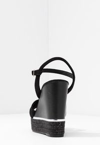 Kanna - NICOLE - High heeled sandals - black - 5