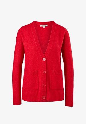 Cardigan - scarlet red