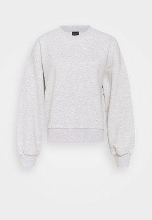 BASIC - Bluza - light grey melange